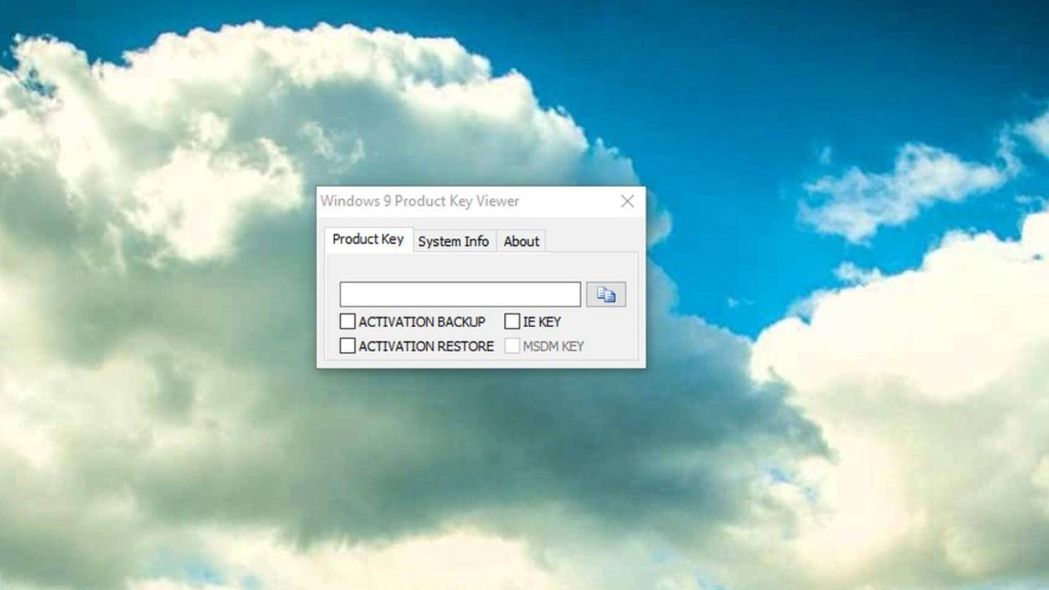Product Key Viewer