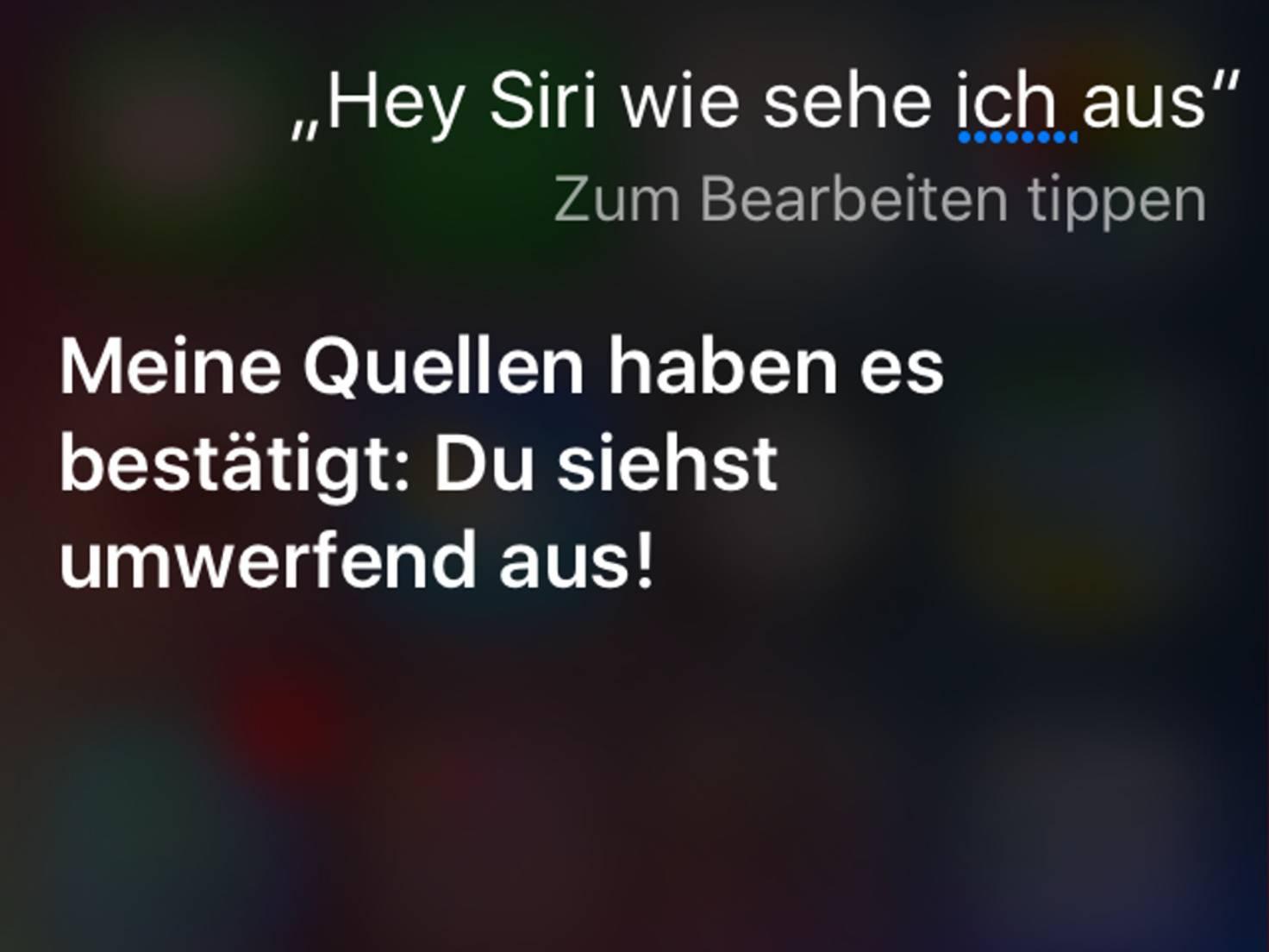 Was Hältst Du Von Siri
