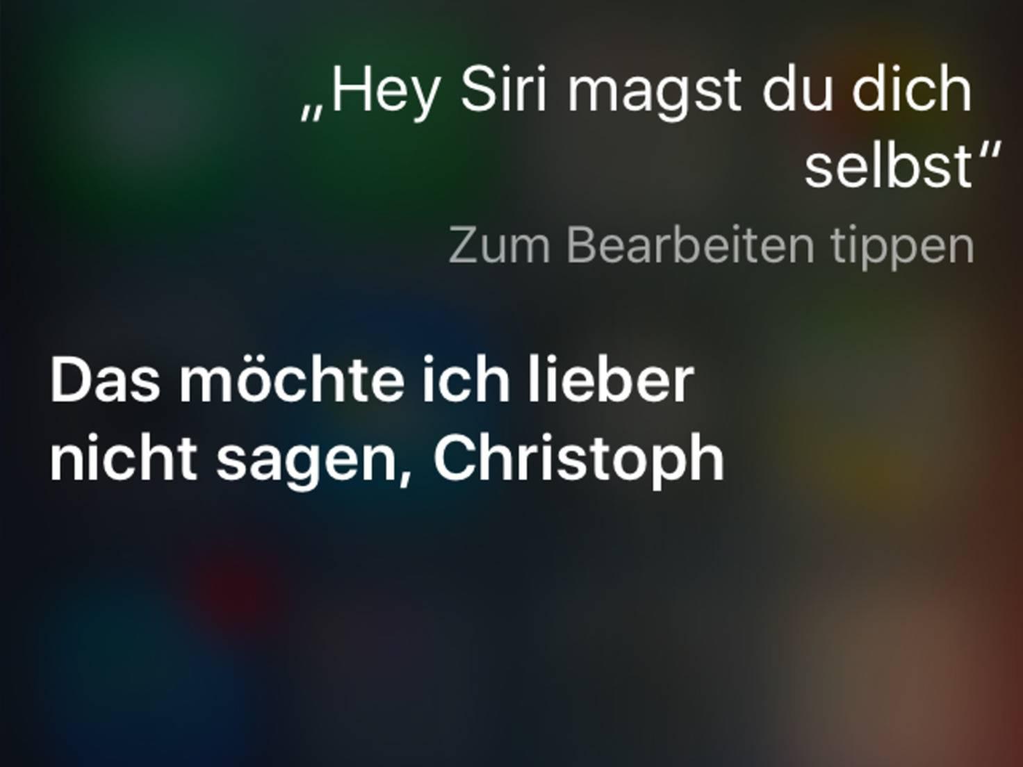 Siri_Eigenliebe