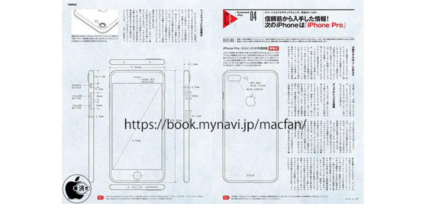 iPhone-7-Plus-Entwurf