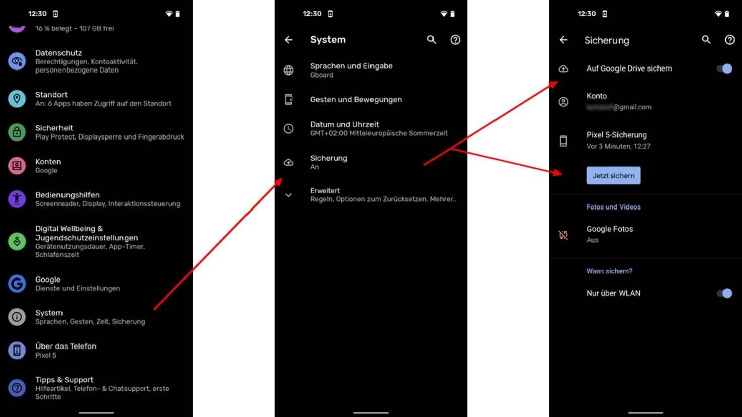 Android-Smartphone-sichern