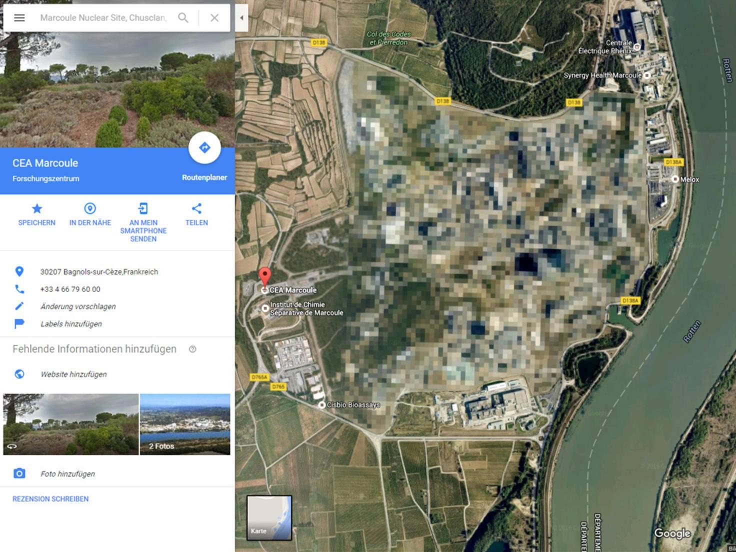Atomenergie-Forschungszentrum Marcoule