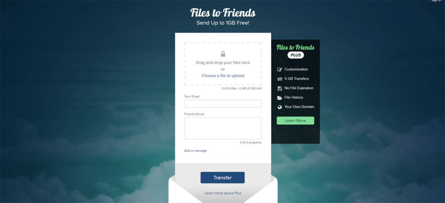 Files to friends