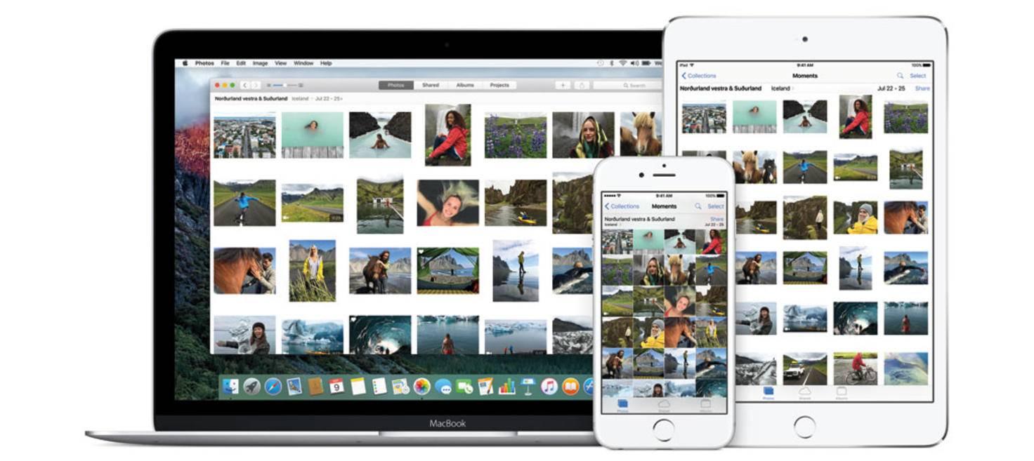 iCloud-Fotomediathek