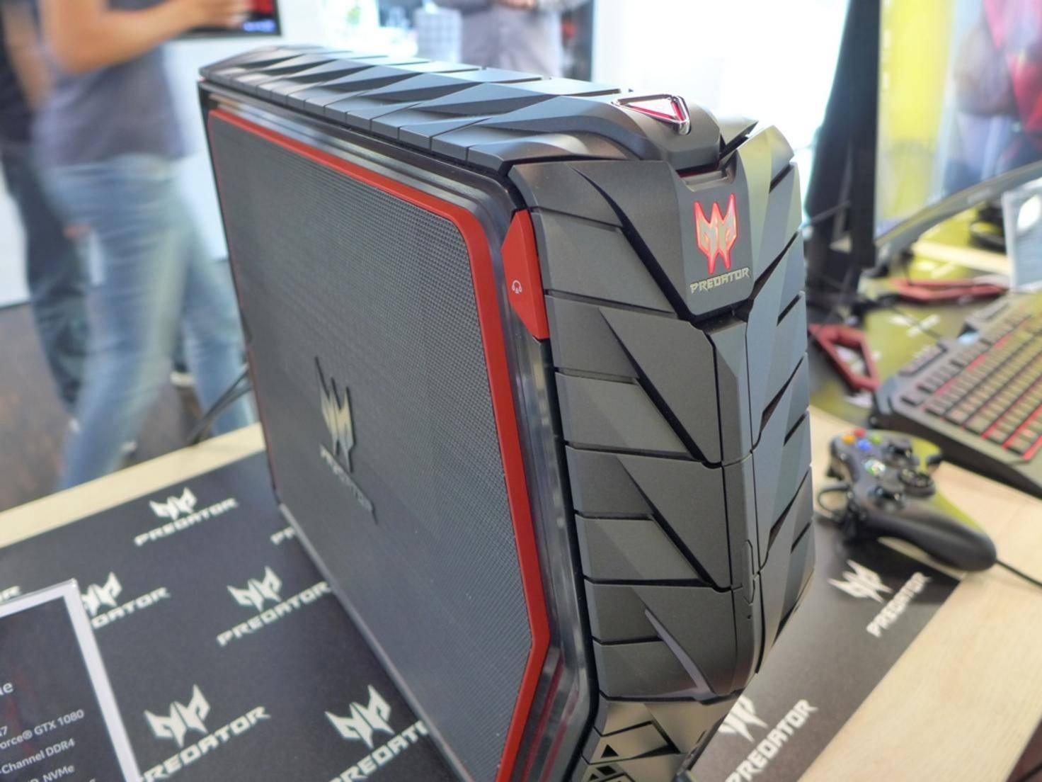 Der Predator G1 soll 4K-Gaming salonfähig machen.