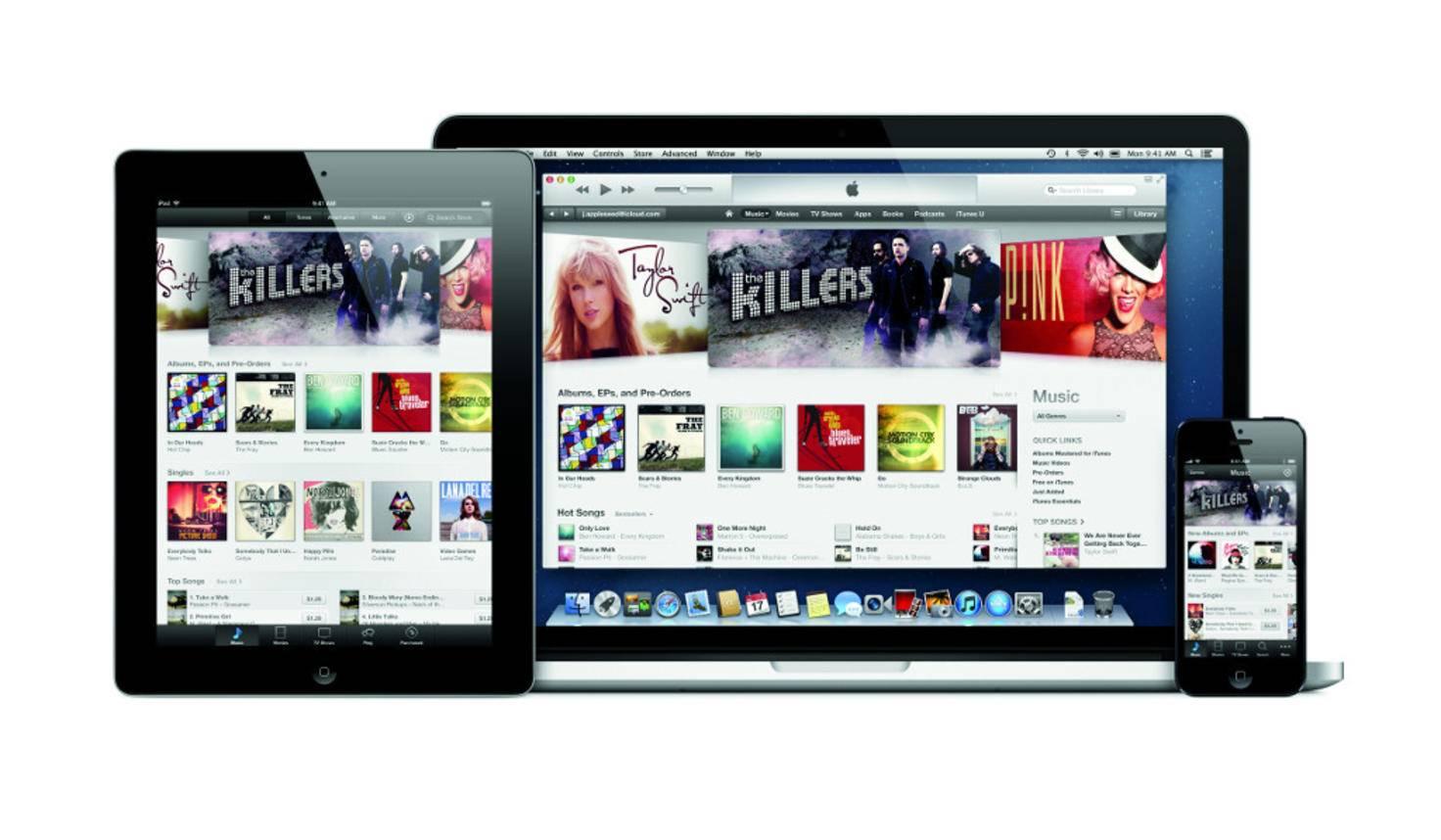 Apple iTunes iPad iPhone