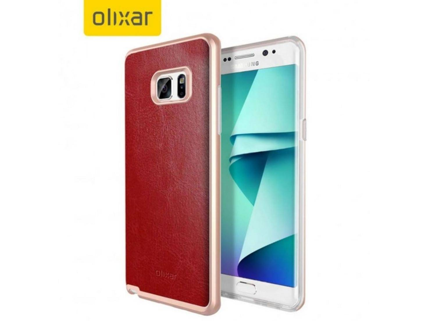 Case für das Samsung Galaxy Note 7 von Olixar.