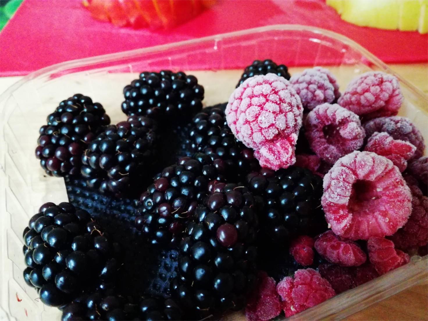 Auch im Lebensmittelmodus, der die Farbsättigung erhöht, wirkt der Hintergrund verwaschen.