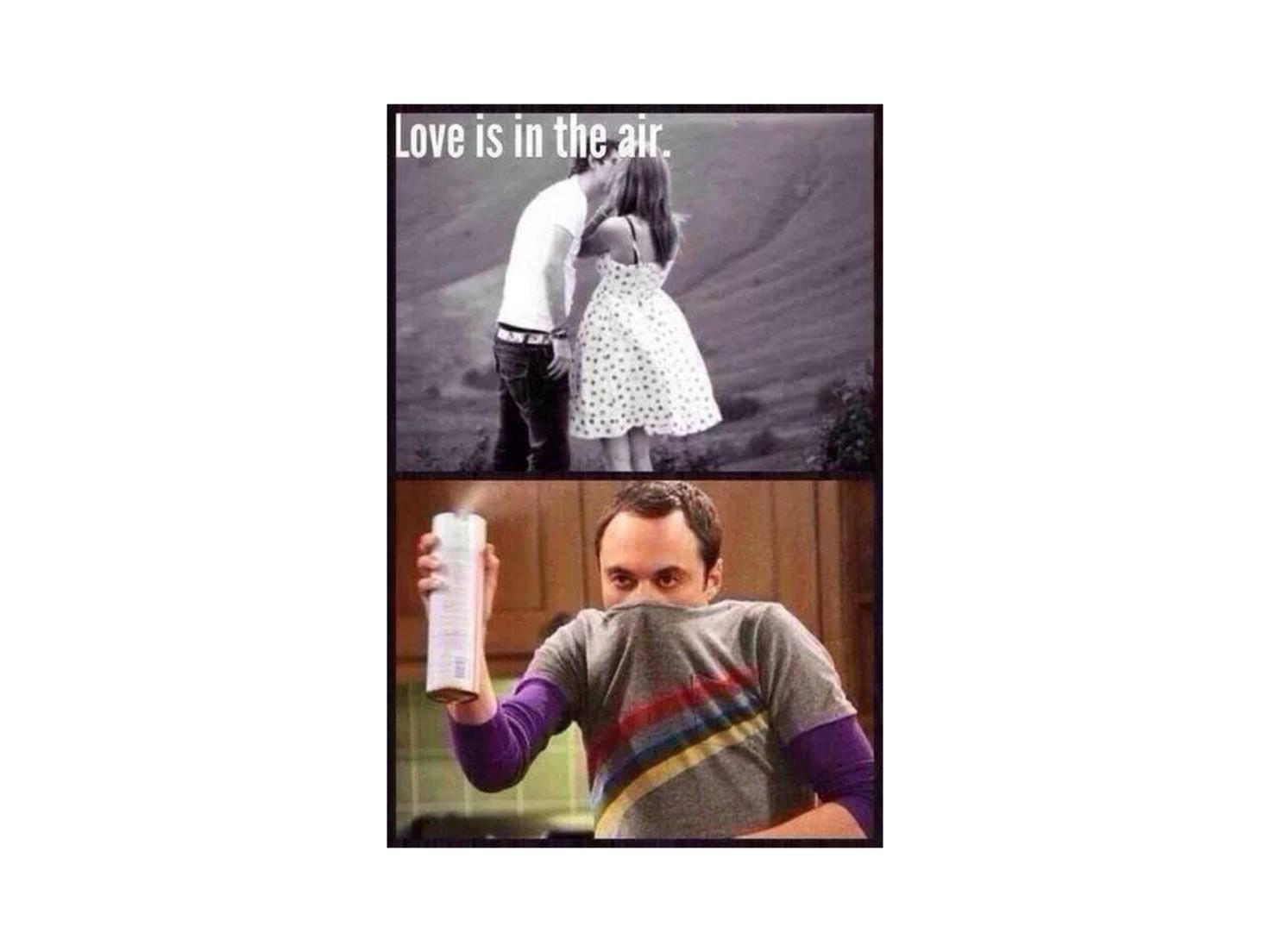 Frisch getrennte sehen die Liebe eher so.