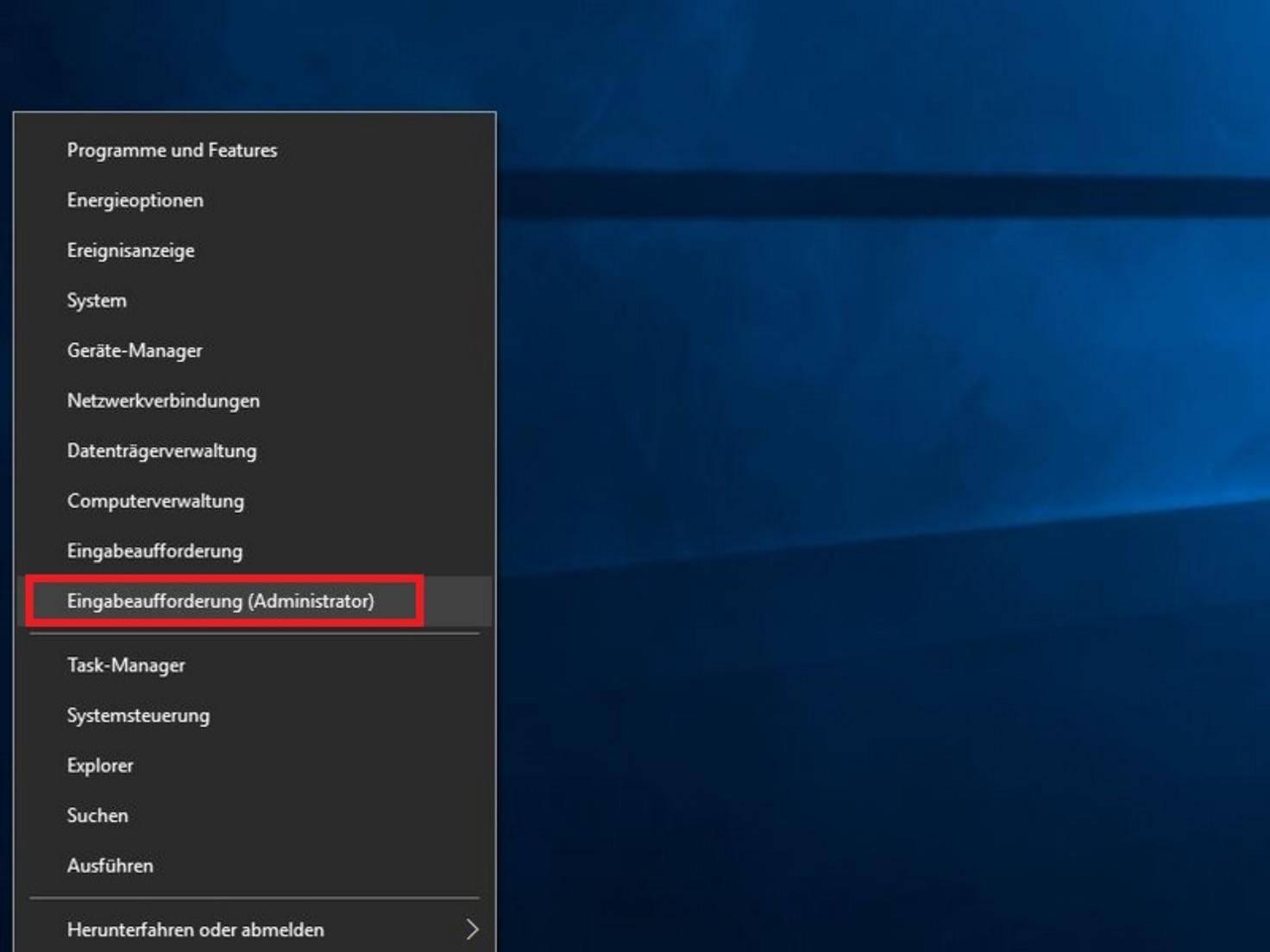 Windows10_Eingabeaufforderung