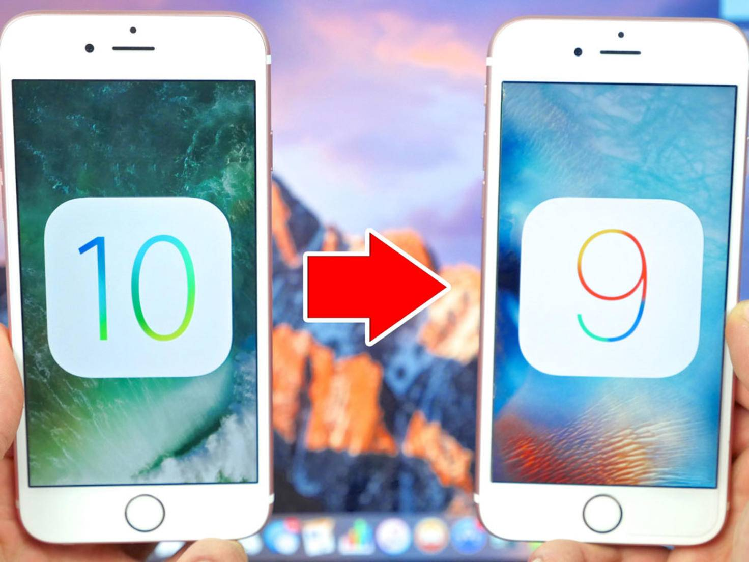 iOS 10: Downgrade auf iOS 9