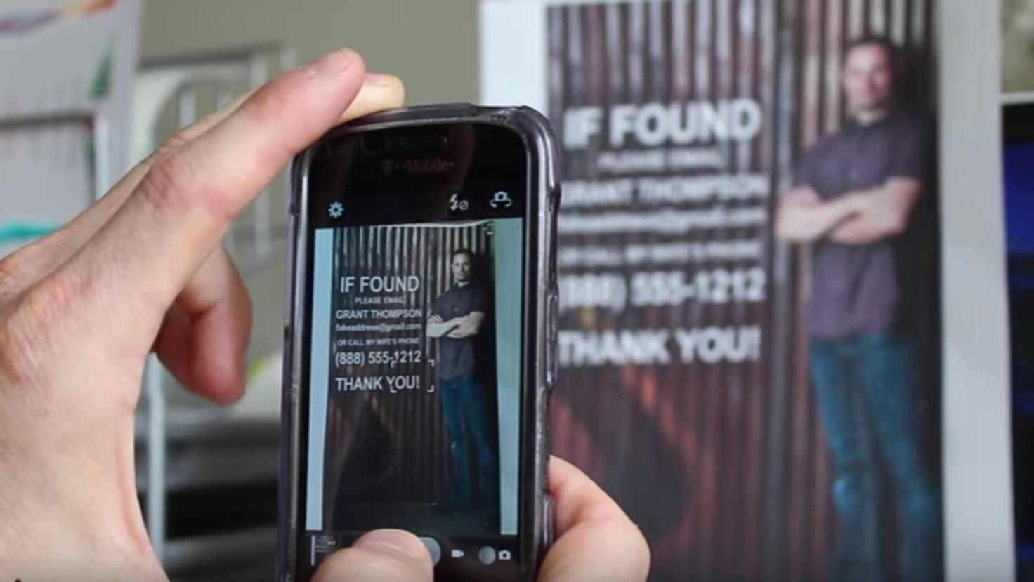 Die eigenen Kontaktdaten auf dem Sperrbildschirm