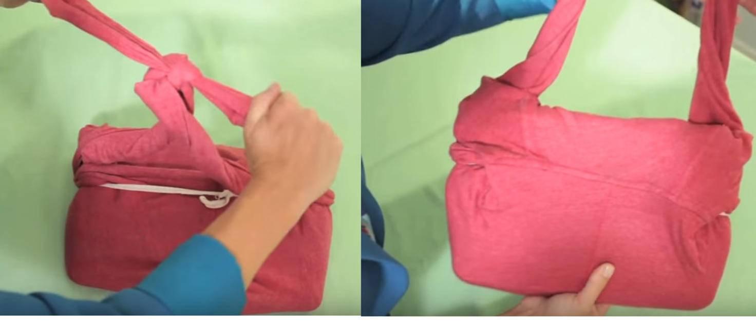Mit ein paar einfachen Handgriffen funktionieren wir einen Kapuzenpullover um.