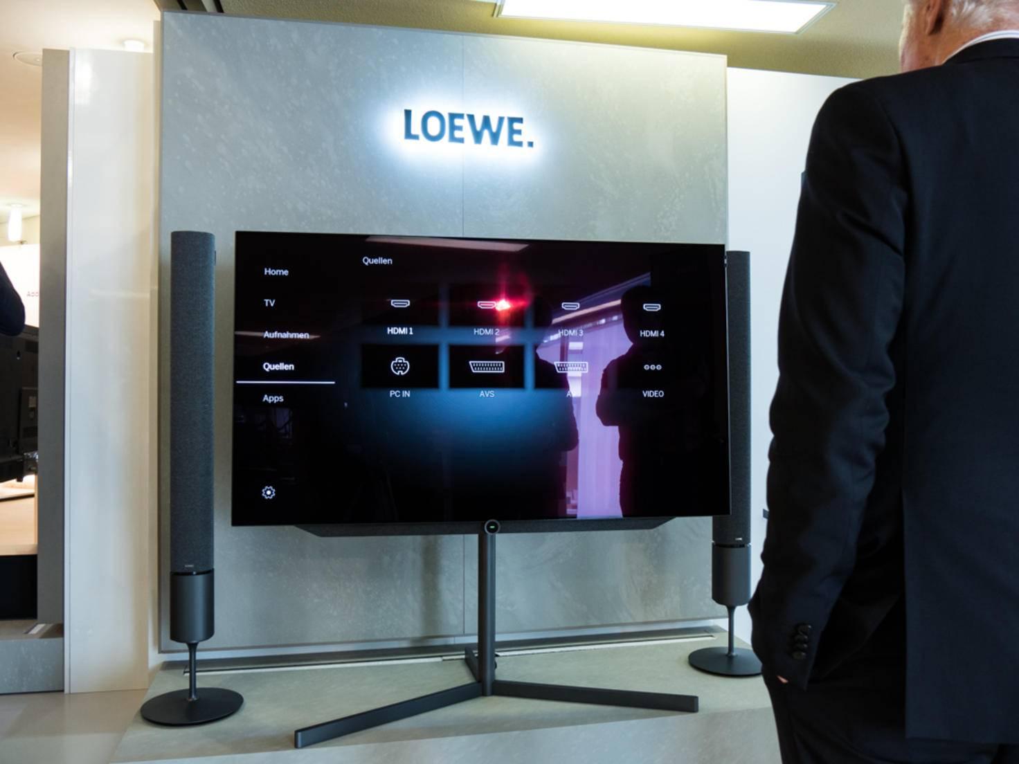 Ein echtes Highlight: der Loewe bild 7.