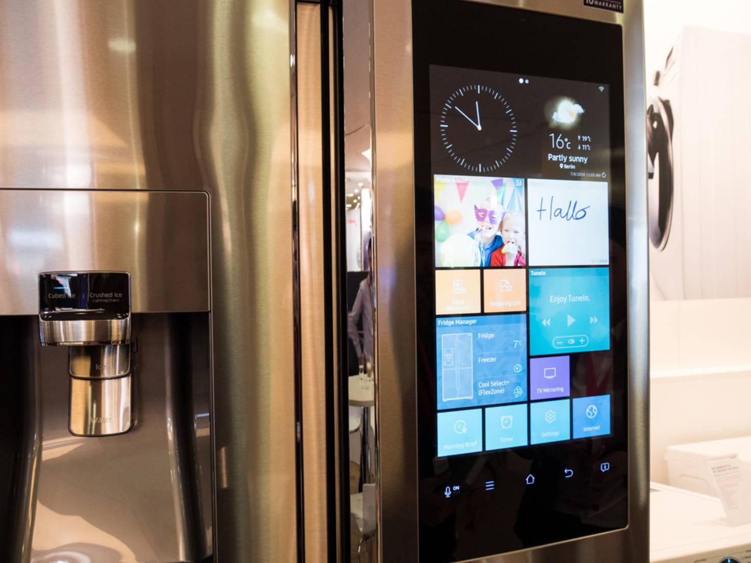 Der Family Hub T9000 ist ein Kühlschrank mit gewissen Vorzügen.
