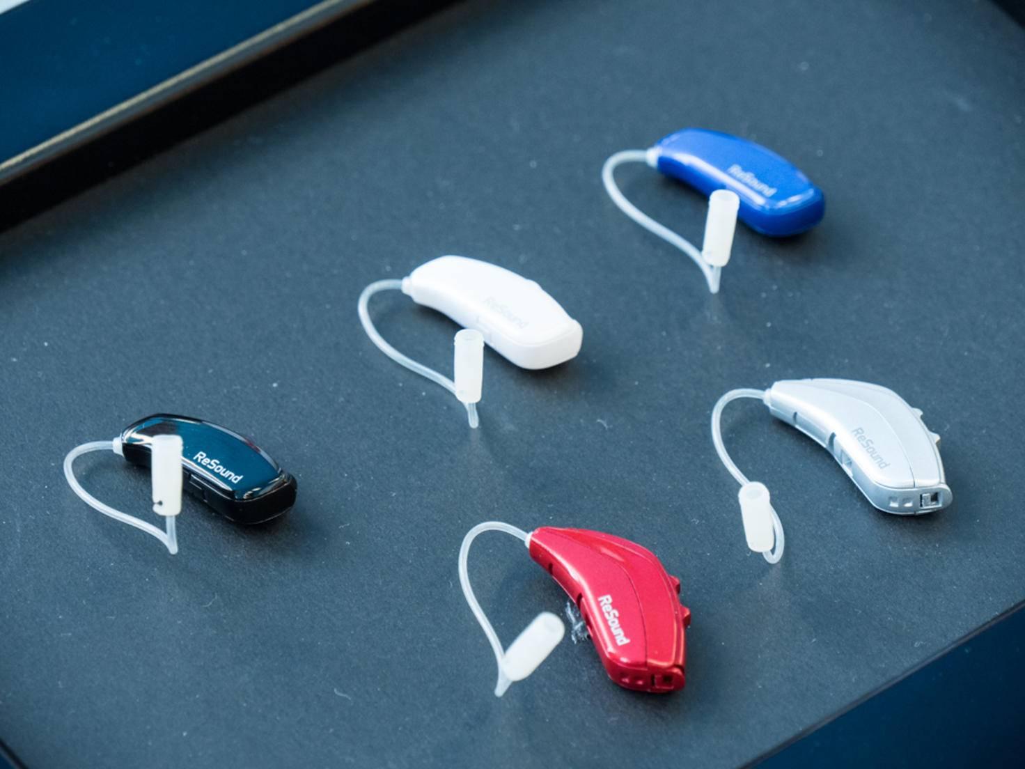 Dabei ist ReSound kleiner als viele andere Hörgeräte.