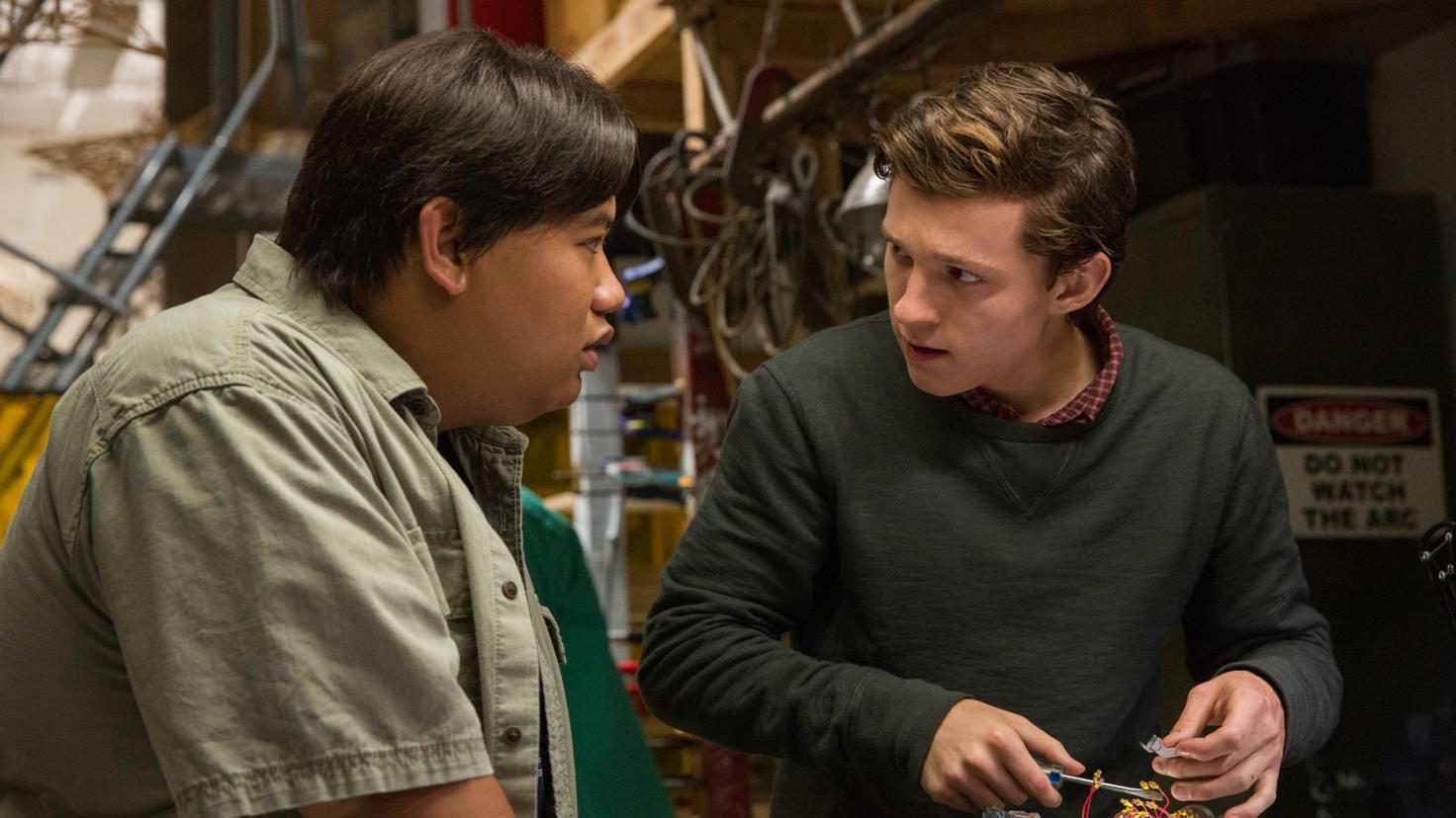 ... den besten Kumpel von Peter Parker (Tom Holland).
