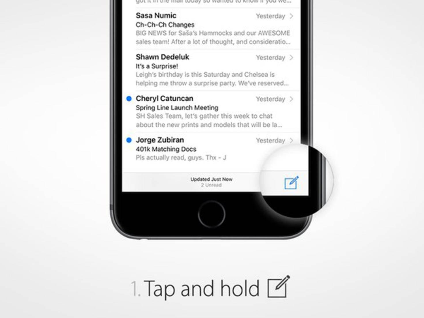 E-Mail-Entwürfe