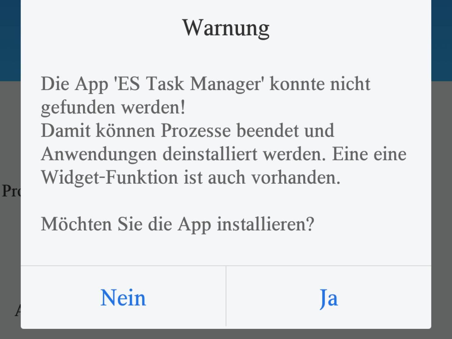 ES Datei Manager