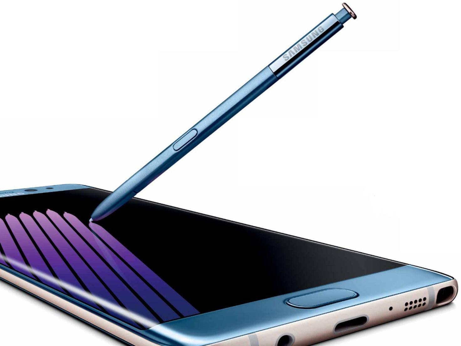 Galaxy Note 7 mit Stylus