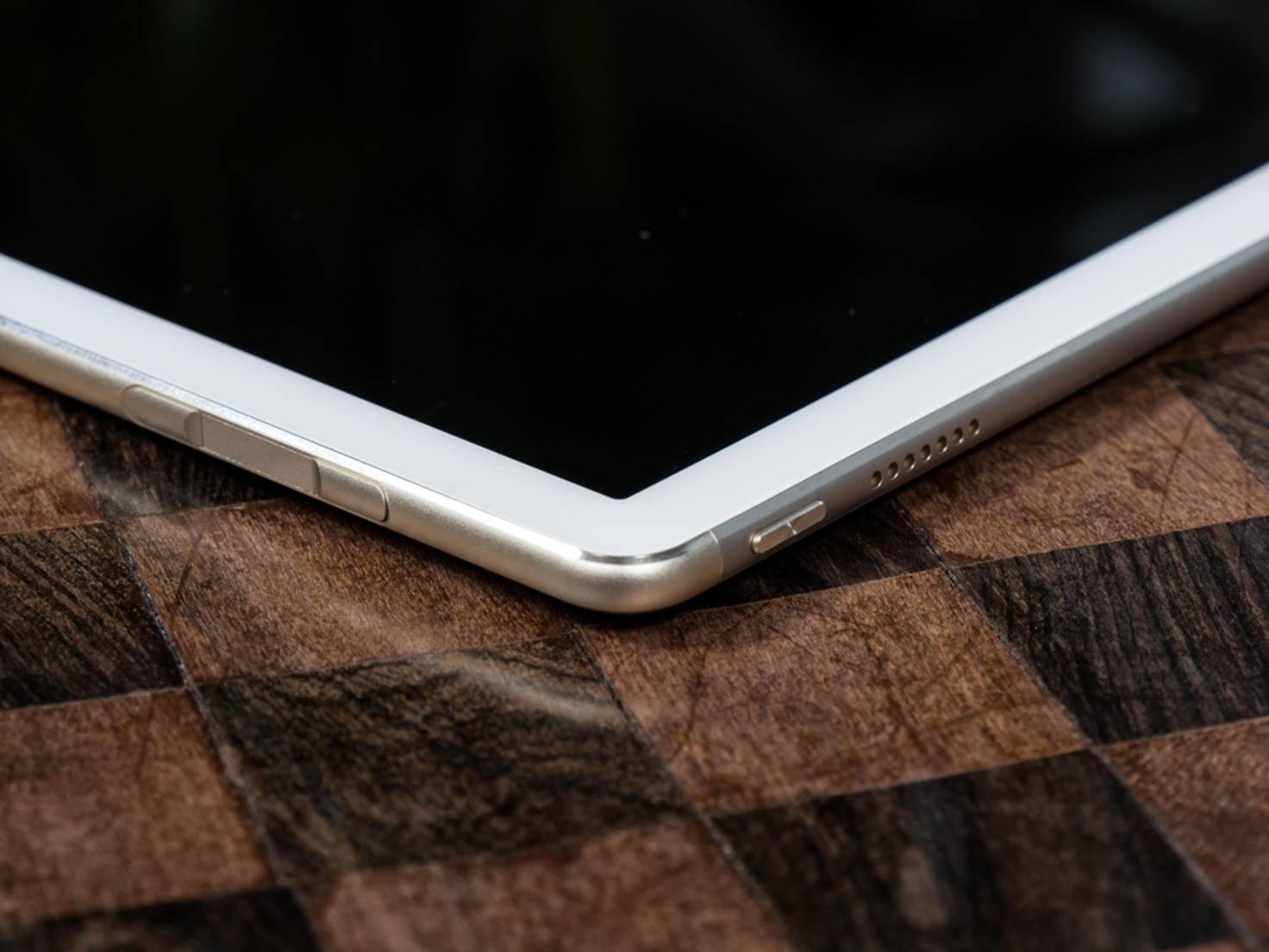 Die abgerundeten Kanten sind ebenfalls Apple-typisch.