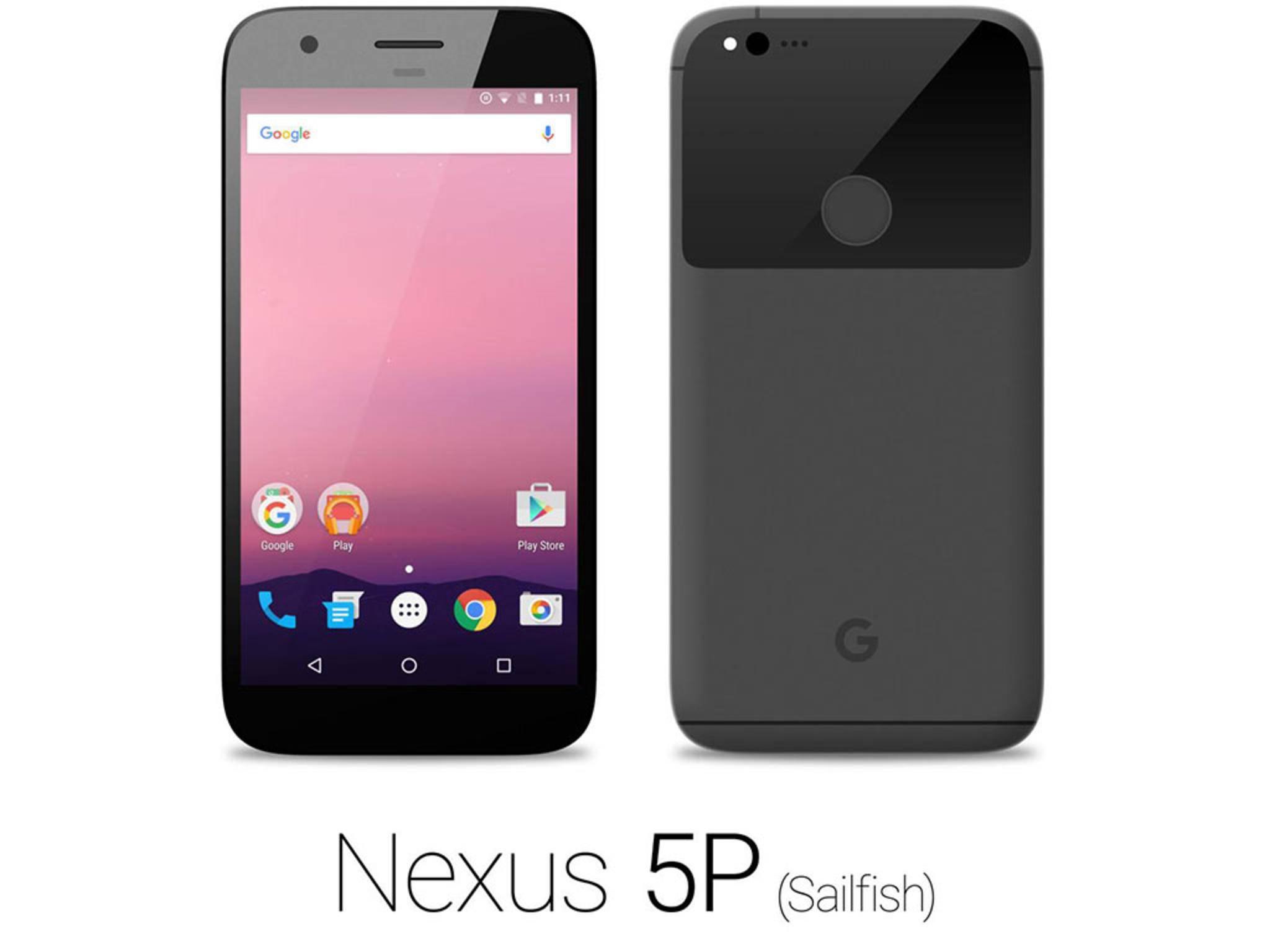 Das Nexus-Phone in Schwarz.
