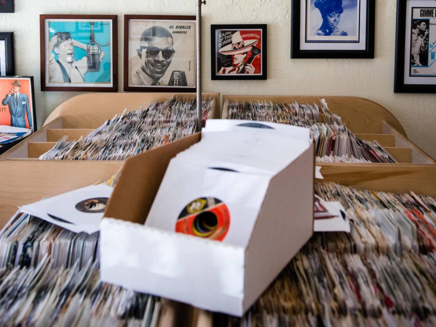 USA California San Francisco Haight Ashbury Rooky Ricardo's Records