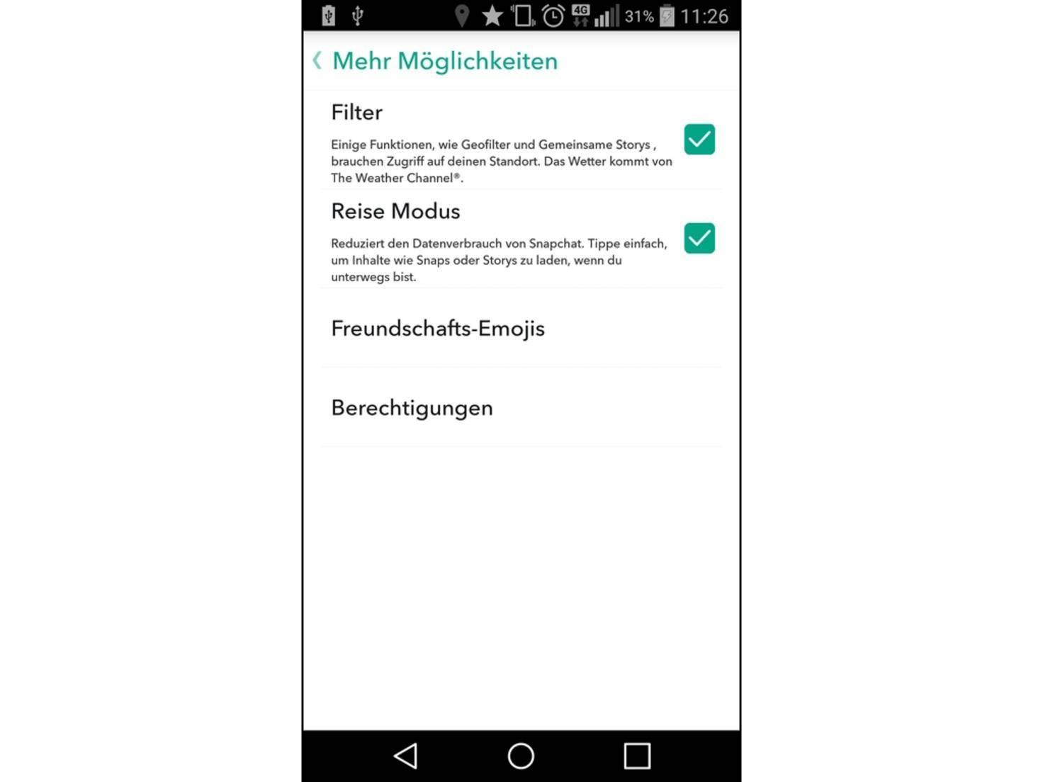 Snapchat_Datenverbrauch