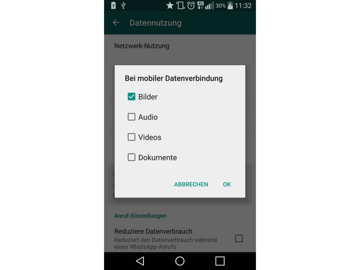 WhatsApp_Datenvolumen