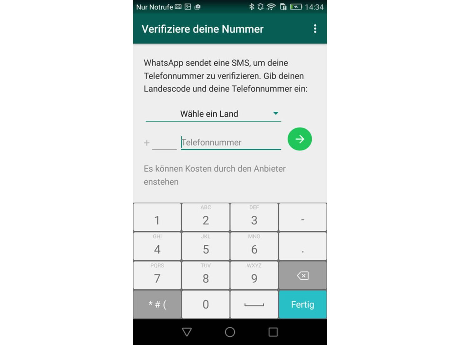 Whatsapp Mit Festnetz