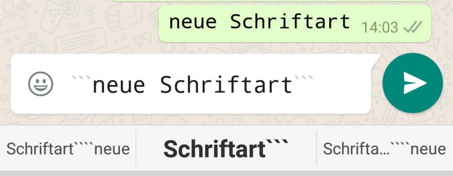 WhatsApp_Schriftart