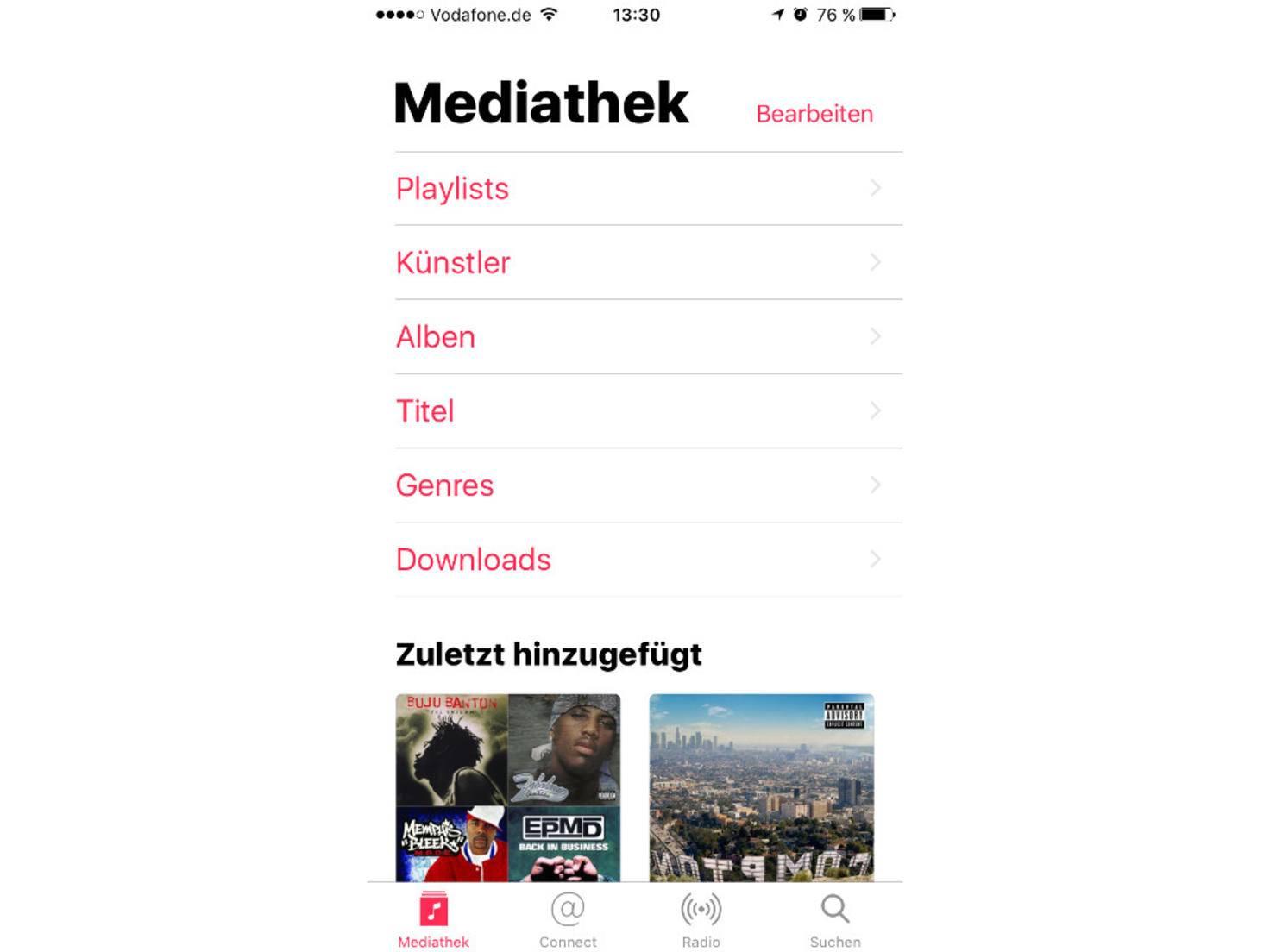 iOS 10 Music App
