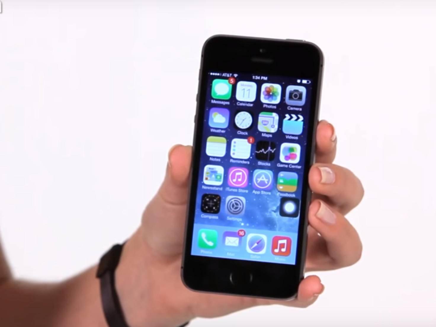 AssistiveTouch auf dem iPhone