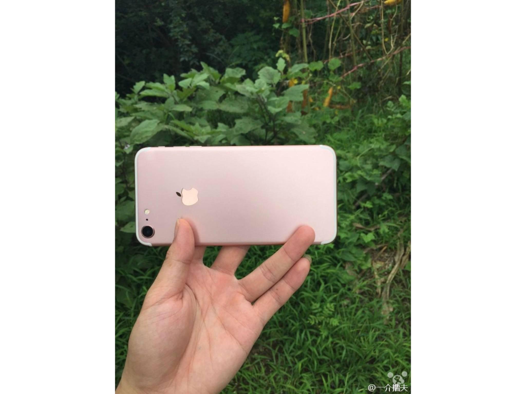 Dummy des iPhone 7.