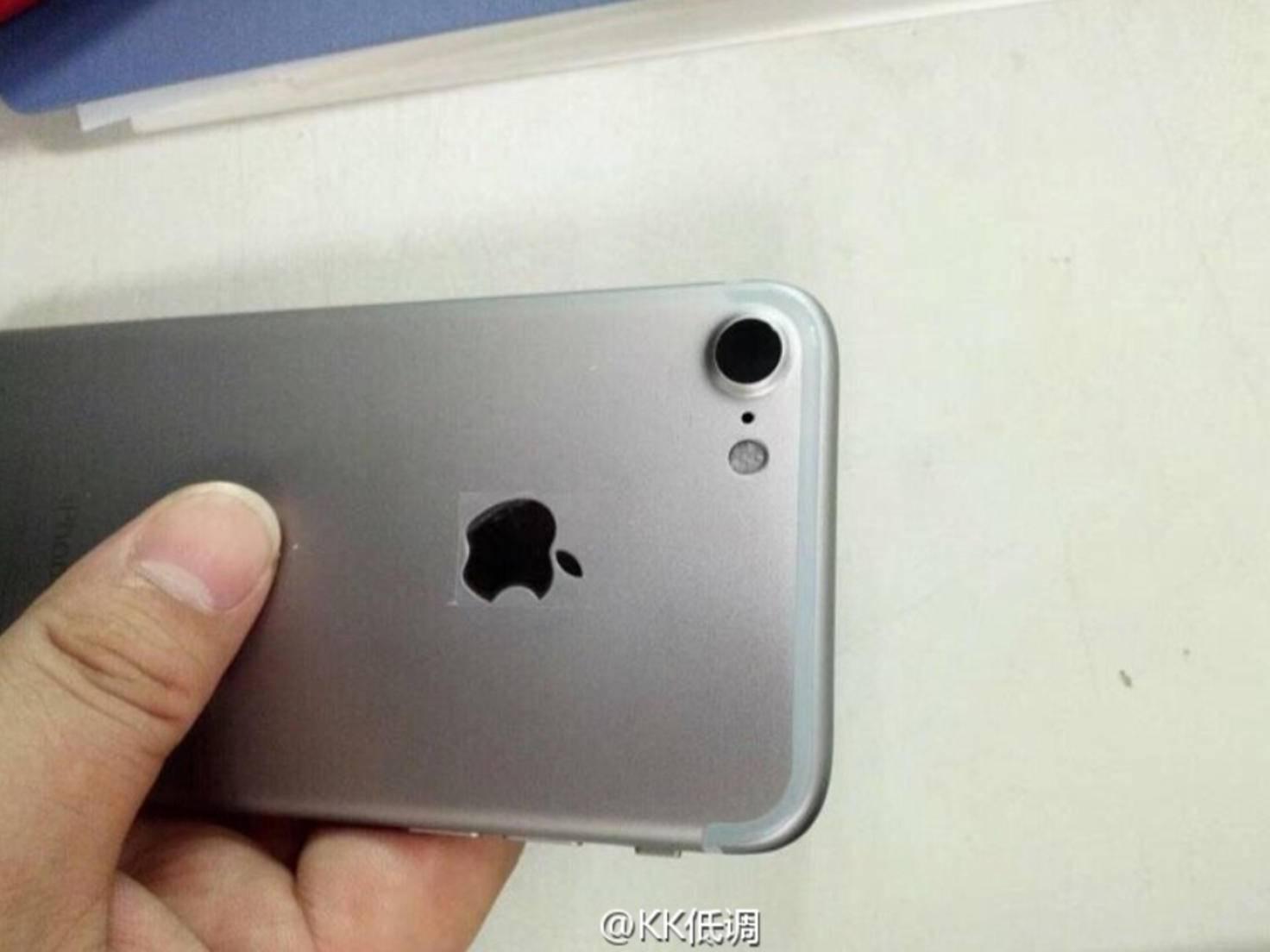 Leak-Foto vom iPhone 7.