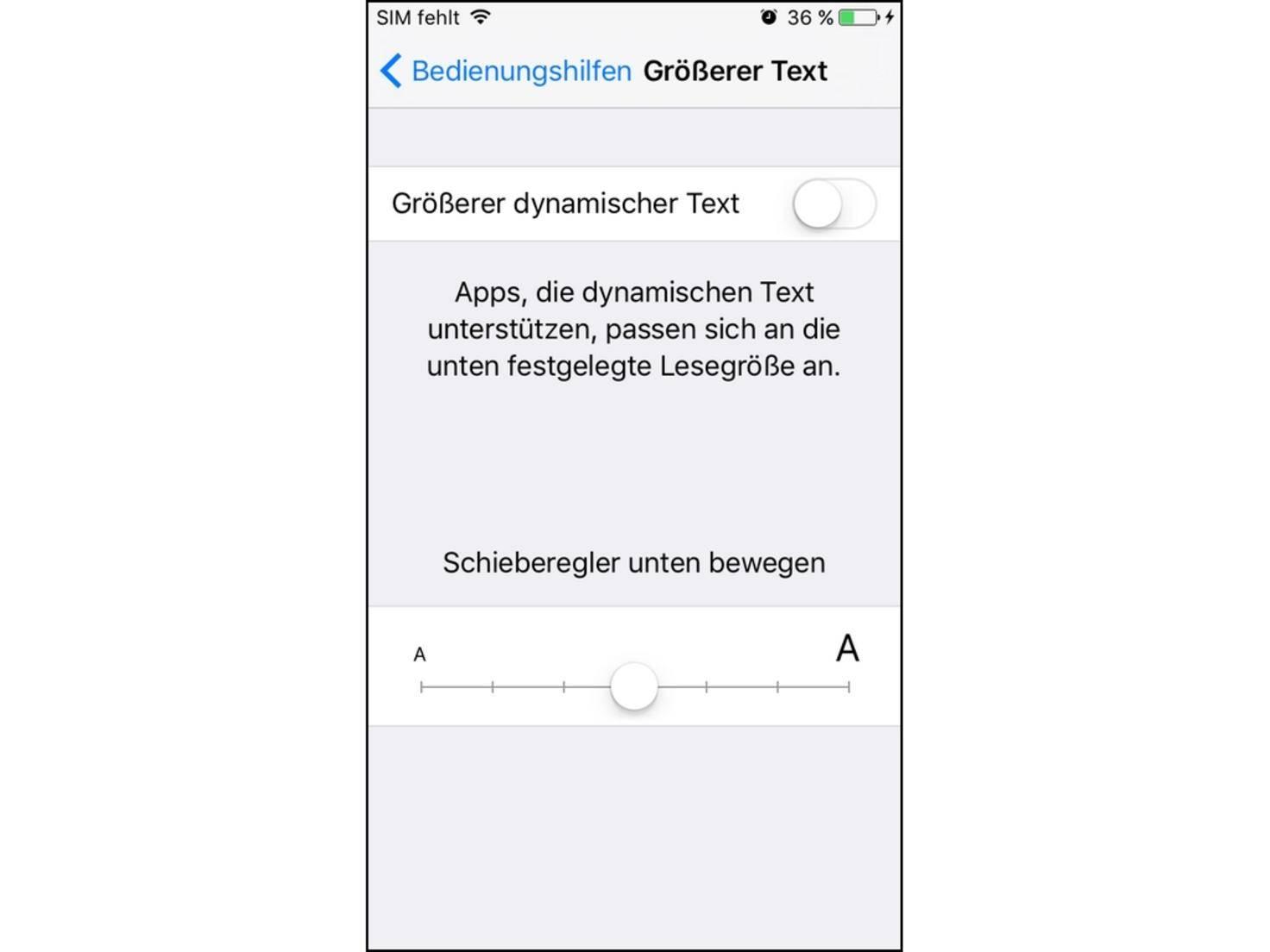 iPhone_Schriftgröße