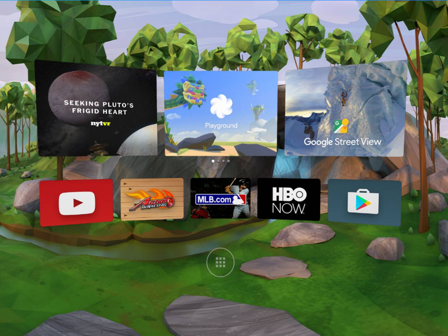 Android Nougat Daydream