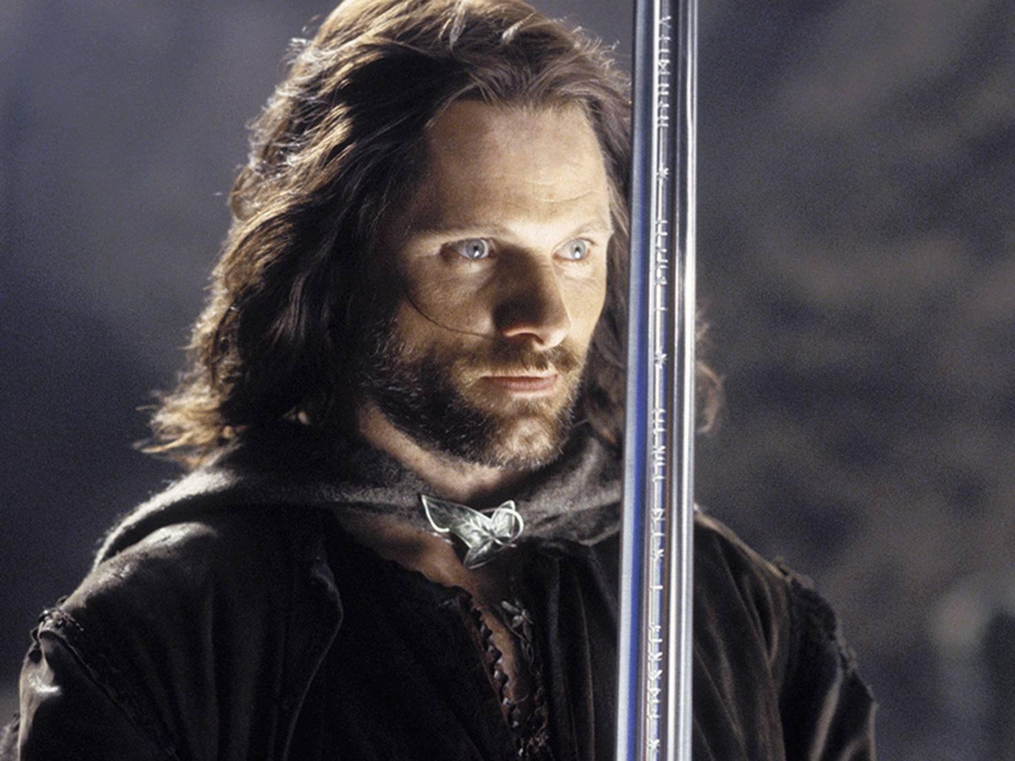 Aragorn ist einer der Wenigen, der kein Interesse am Ring hat.