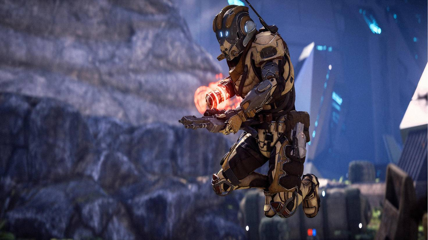 """Action-RPG mit Sci-Fi-Anstrich: """"Mass Effect: Andromeda""""."""