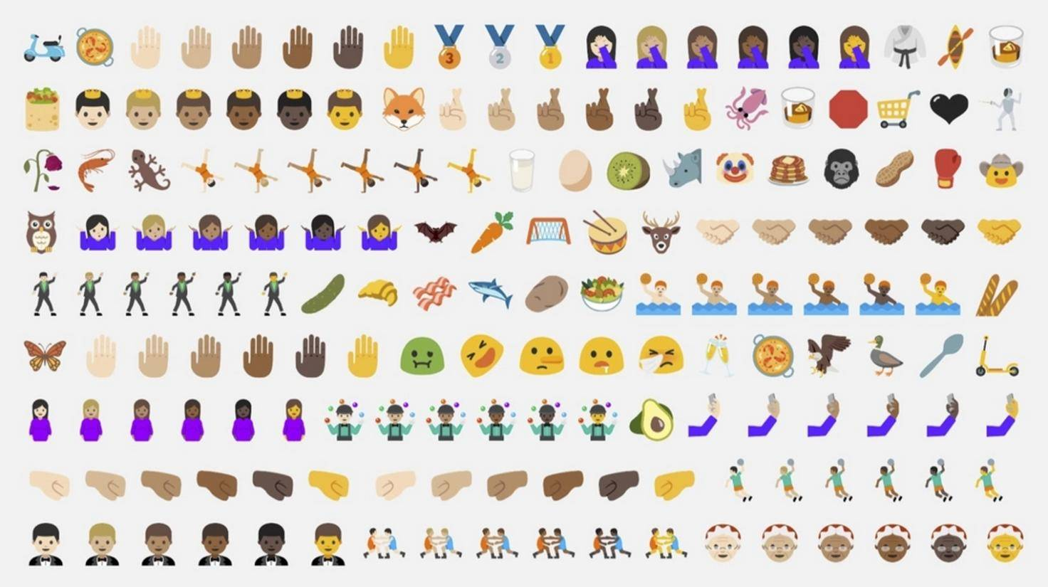 Neue Emojis Android 7