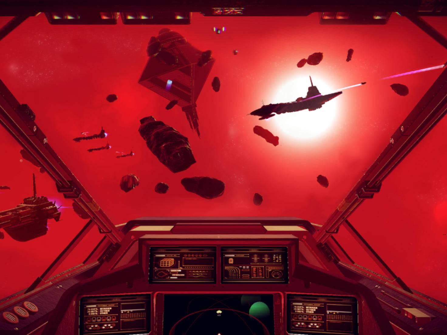 Die Reise zu anderen Planeten kann mitunter mehrere Stunden dauern.
