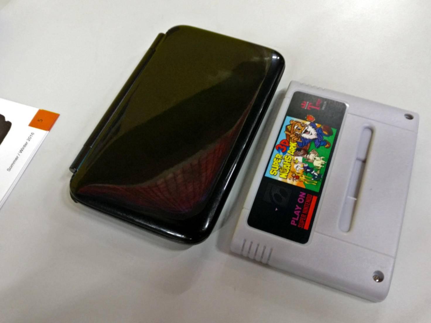 Der GPD Win ist in etwa so groß wie ein SNES-Spiel.