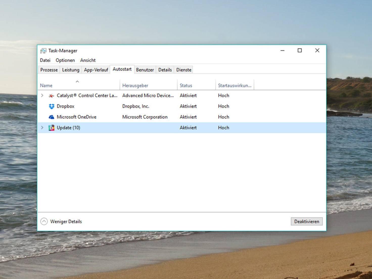 Windows 10 Autostart 1
