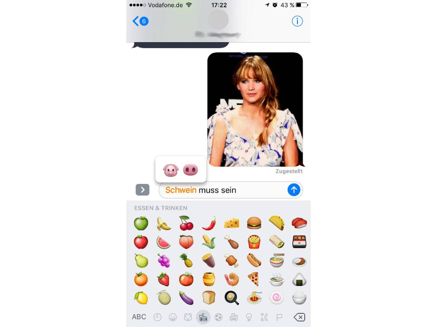 iMessage iOS 10 Emojis