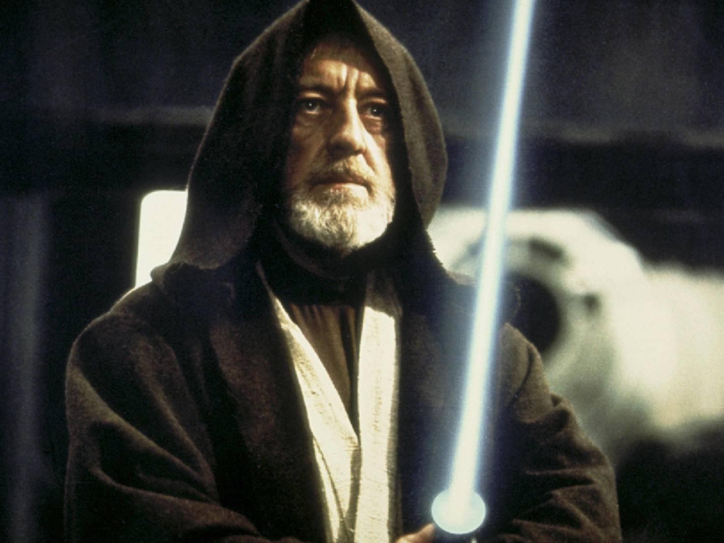 """Dank """"Star Wars"""" war das Portemonnaie von Sir Alec Guinness immer gut gefüllt."""