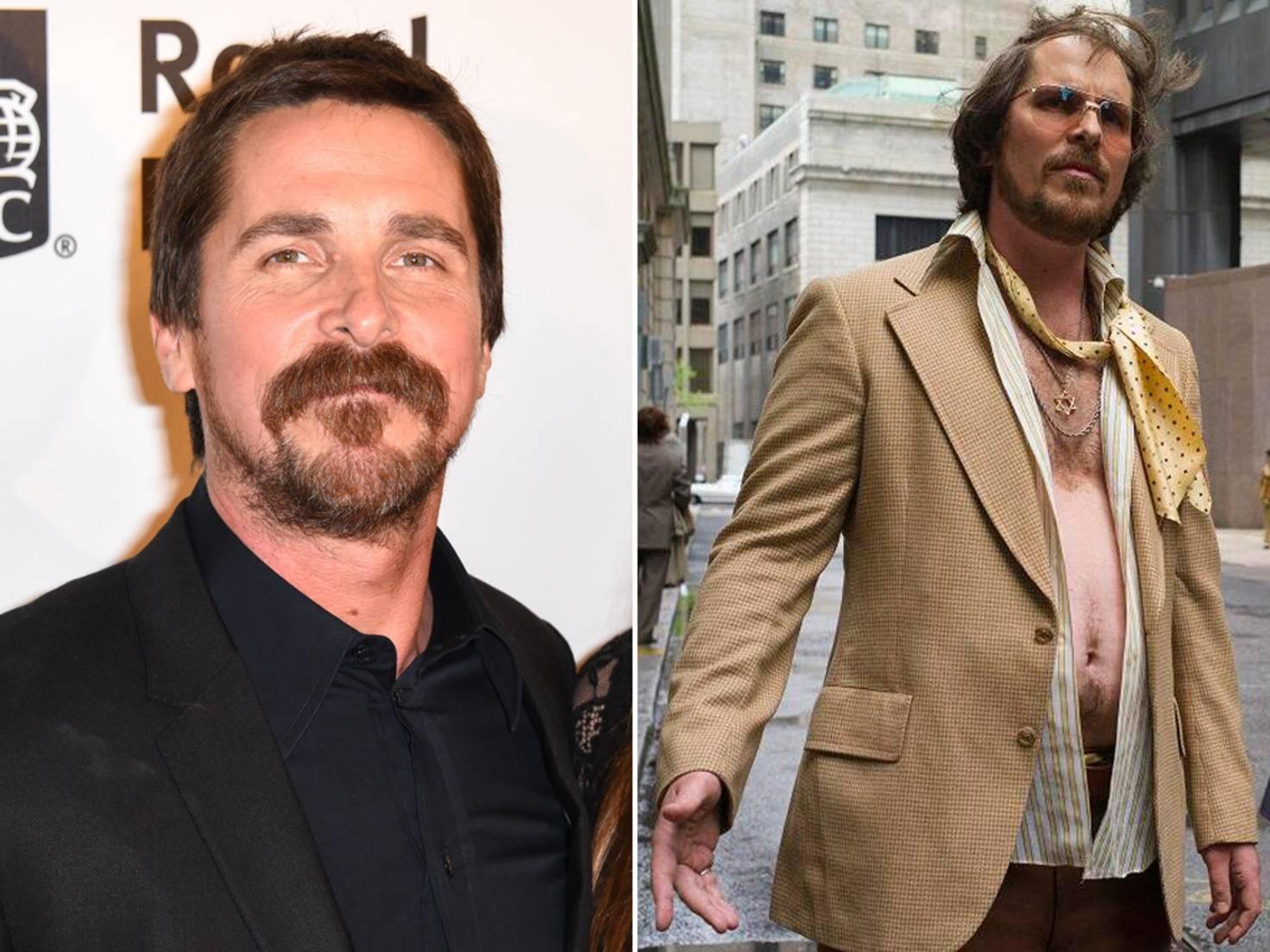 """Anders für """"American Hustle"""": Der Hollywoodstar konnte alles schlemmen, was ihm in die Finger kam."""