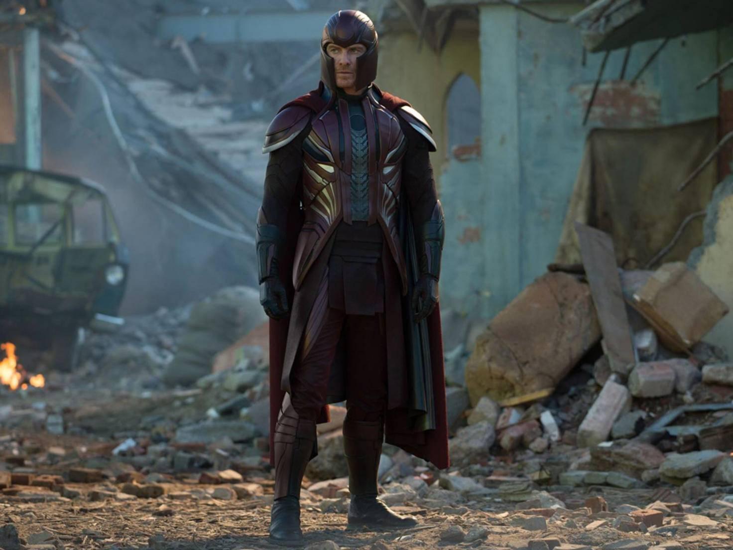 Wohin er auch geht, hinterlässt Magneto ein Feld der Verwüstung.