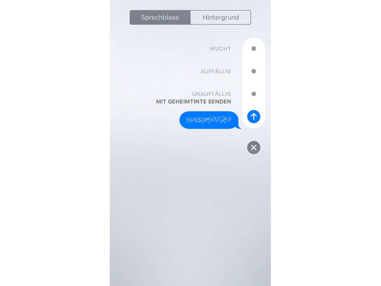 iOS 10 Geheimtinte