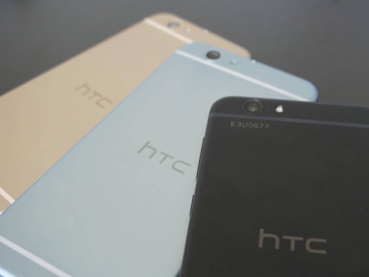 Hallo, iPhone! Für das One A9s suchte HTC wohl optische Inspiration.