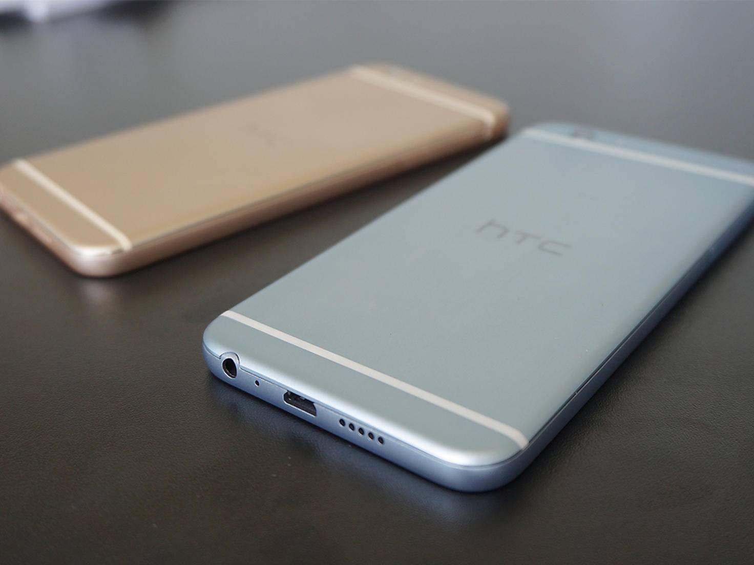 Das HTC One A9s kommt im vierten Quartal in drei Farben auf den Markt.